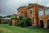 Abandoned and overgrown former Nechaev's mansion in Polibino village  - 170331283