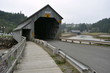 Covered Bridge near St Martins, Canada