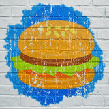 Street art. Hamburger - 170395838