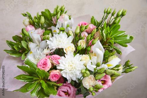 Fridge magnet nice flower bouquet
