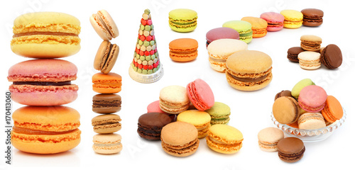 Keuken foto achterwand Macarons Macaron - French pastries