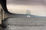 Öresundbrücke bei Regen