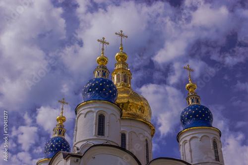 Fotobehang Kiev Church in Tobolsk