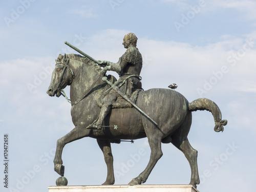Equestrian monument at Gattamelata Poster
