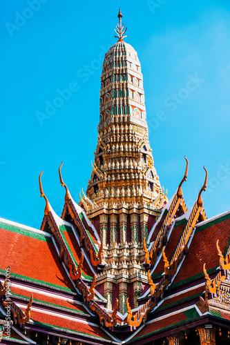 Fotobehang Thailand Grand Palace in Bangkok, Thailand