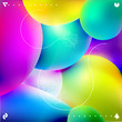 Background of multicolored bubbles - 170491023