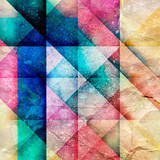 Abstract bright geometric background - 170524834