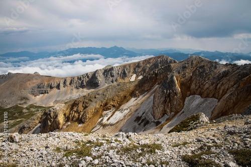 Fotobehang Natuur mountains