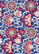 Traditional Indian floral pattern - 170534856