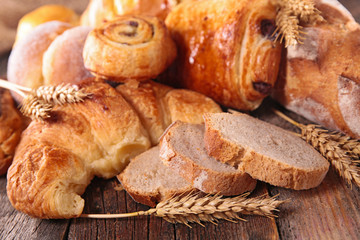 assorted bread and pastries