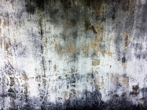Poster Betonbehang Old Cement, Gray Concrete Wall Texture for Background Great For Any Use.