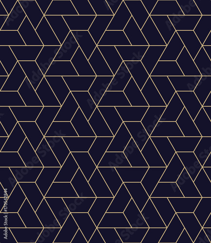 simple seamless geometric grid vector pattern - 170542844