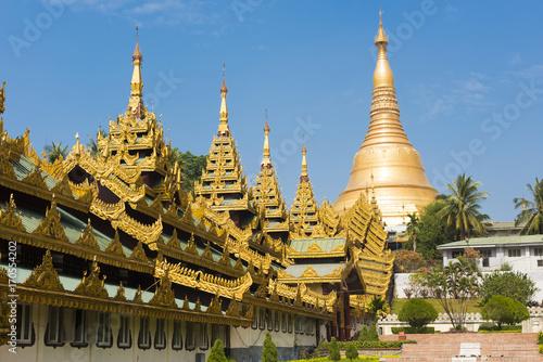 Aluminium Fyle Shwedagon Paya