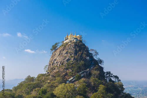 Aluminium Fyle Temple near Mt. Popa