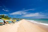 beach and tropical sea - 170557871