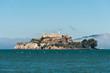 Alcatraz Island view from the San Francisco Pier 39