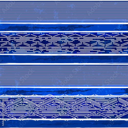 Fotobehang Abstract met Penseelstreken abstract background pattern, with stripes; dots, strokes and splashes