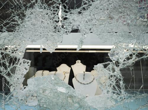 Einbruch Juweliergeschäft © Blickfang