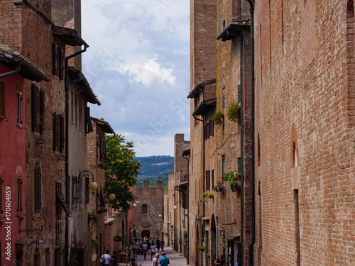 Foto op Plexiglas Toscane Tuscany sightseeing in Italy