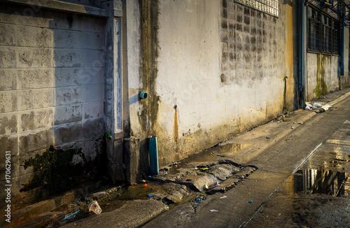 Bangkok Backstreet, Urban Scene Poster