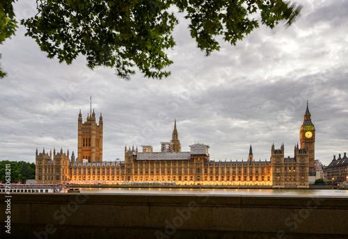 Fotobehang Londen Westminster Big Ben UK