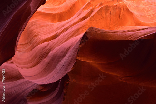 Papiers peints Marron Antelope Canyon