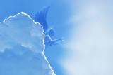 Angel flying in sky - 170662848
