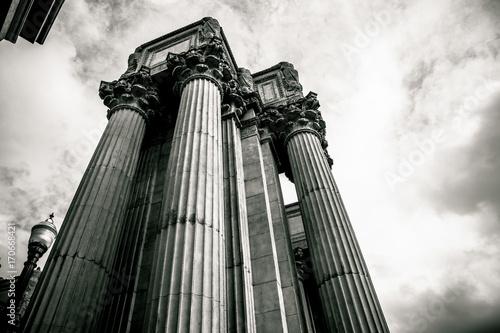 Fotobehang San Francisco Columns in San Francisco