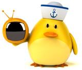 Yellow bird - 3D Illustration - 170678638