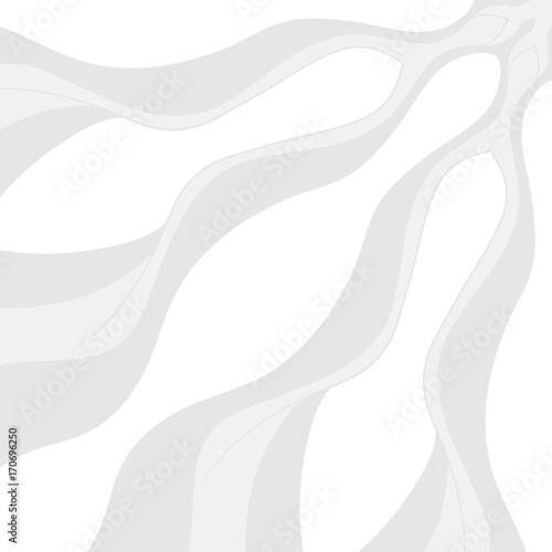 Foto op Plexiglas Abstract wave cartoon