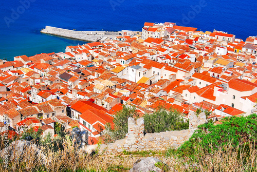 Keuken foto achterwand Palermo Cefalu, Italy, Sicily - Ligurian Sea