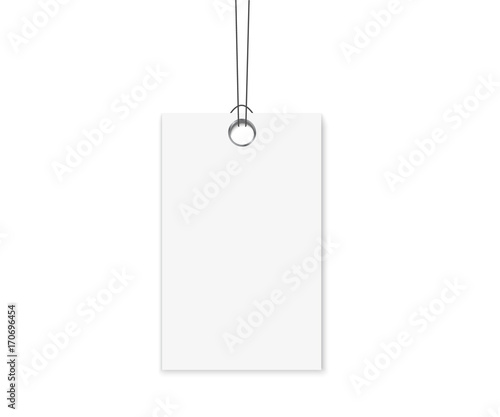 blank labels template price tags set realistic vector buy photos