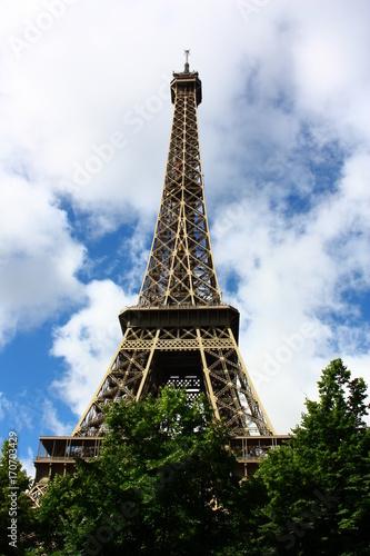 Fotobehang Eiffeltoren Eiffelturm-Paris
