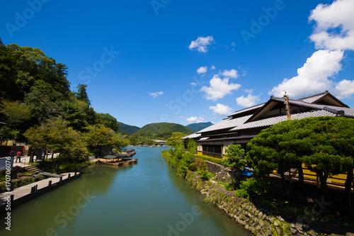 Aluminium Kyoto Japanese River