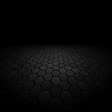 abstract floor perspective black texture background