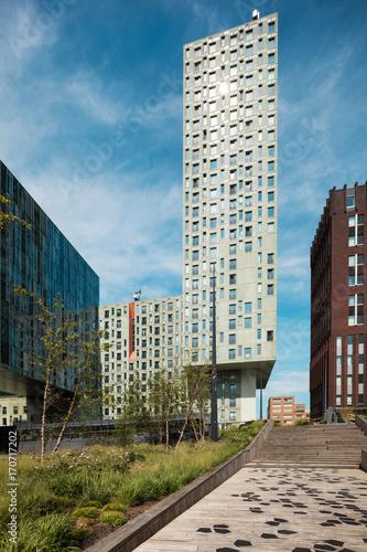 Foto op Plexiglas Rotterdam modern palaces in Rotterdam