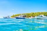 Boote am Meer in Kroatien - 170720237