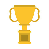 trophy cup  prize icon image vector illustration design