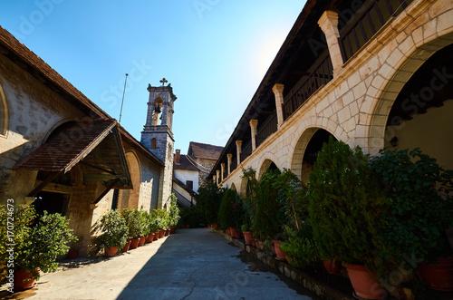 Foto op Plexiglas Cyprus Chrysoroyiatissa Monastery, Cyprus