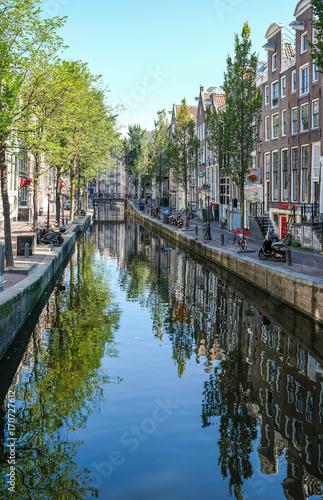 Foto op Plexiglas Amsterdam Amsterdam mit Grachten