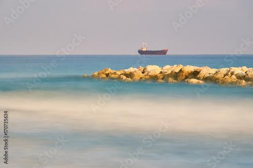 Aluminium Schipbreuk Shipwreck near Paphos, Cyprus