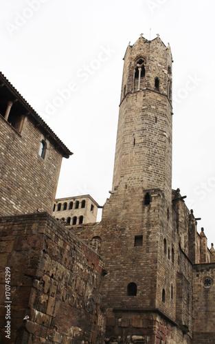 Aluminium Barcelona Barri Gotic quarter