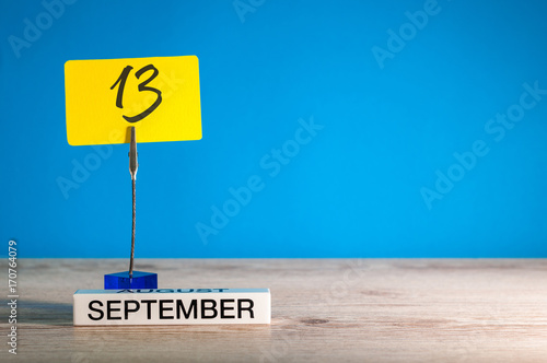 Poster September 13th