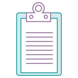 clipboard document isolated icon vector illustration design - 170786267
