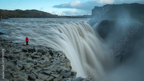 Dettifoss waterfall, Northern Iceland
