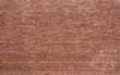 Quadro Red Brick Wall with Horizontal Pattern