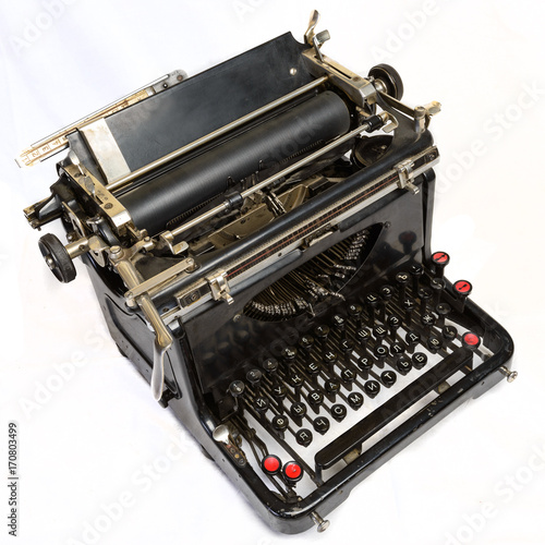Poster Old Typewriter 2