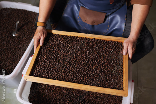 Poster Roasted beans