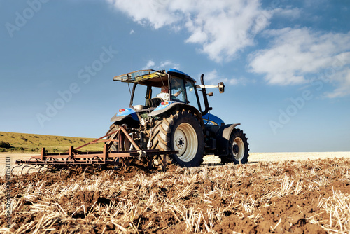 Foto Murales labours après la récolte