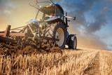 labours après la récolte et avant l'orage